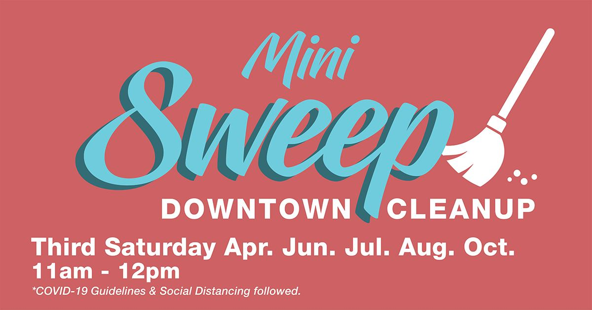 Main Street Lorain Design Committee – MINI SWEEP #1: April 17 11am-Noon