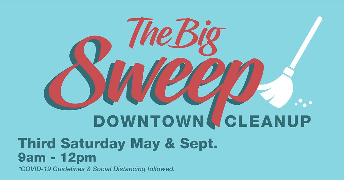 Main Street Lorain Design Committee – Spring BIG SWEEP! May 15 9am – Noon